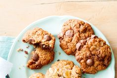 Try our scrumptious new twist on a true blue classic. Milk Cookies, Sweet Cookies, Best Chocolate Chip Cookies Recipe, Anzac Biscuits, Australian Food, Australian Recipes, Recipe Creator, Sugar Free Desserts, Gourmet