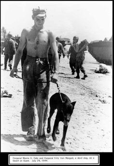 During the actual Liberation of Guam