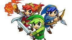 Zelda triforce heroes II trio