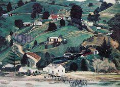 Whakapirau+by+Dick+Frizzell+for+Sale+-+New+Zealand+Art+Prints