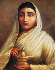 History Of India and World: Rani Ahilyabai Holkar - Rajamatha Of Holkar Dynast. History Of India, Women In History, Ancient History, Women Freedom Fighters, History Images, Great Women, 8th Of March, 18th Century, Mystic