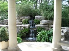 Waterfall 1 - Fort Worth Botanical Gardens http://www.redgage.com/photos/funstuff/waterfall-1-fort-worth-botanical-gardens.html