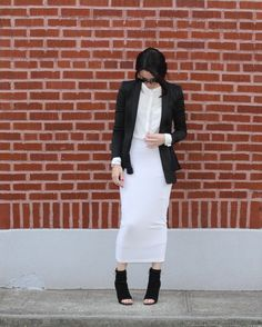 Skirt: MIMU MAXI, mid-calf peep toe boots | à la modesty - Tznius Fashion Blog