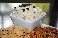 Chocolate Chip Cookie Dough Dip (no eggs!)