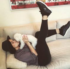 Demi Lovato : for buddy in one of my fav pairs of skechers #skechersdemistyle