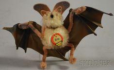 "Steiff ""Eric"" the Bat,"