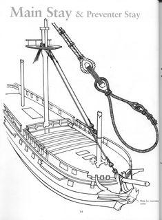 БЕЗ КАТЕГОРИИ » без категории фото 26628402 : Rigging - Period Ship Models - Lennarth Peterssen фотография 800 x 1088