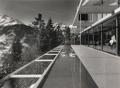 Richard Neutra 1966 - The Rentsch House, In der Ledi, Wengen 3823 in Lauterbrunnen Switzerland.