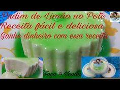 Pudim de Limão no Pote, fácil, barato e vende muito. - YouTube