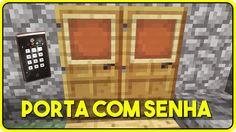 Minecraft PE 0.13.1: COMO CONSTRUIR UMA PORTA COM SENHA