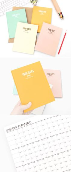 The 1000 Days Story Notebook is a colorful and cute notebook to help your journey for a long-term plan! This notebook has 1000 boxes to write down your plans for up to 1000 days. The notebook also can be used as an idea note, project note or daily journal too!