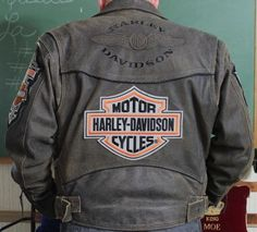 Rare Vintage Billings Distressed Harley Davidson Motorcycle Jacket    I'd like to suggest my personal website about gift ideas and tips. The site is http://ideiadepresente.com  You're welcome to visiting my website!    [BR]  Eu gostaria de sugerir meu site pessoal de dicas de presentes, o site � http://ideiadepresente.com