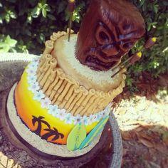 Tiki Luau cake. :)