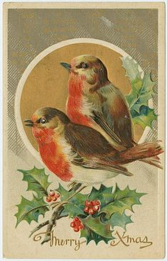 Vintage Christmas Post Cards