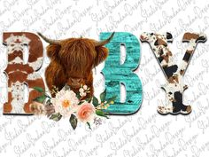 Cow Png, Western Babies, Baby Cows, Baby Design, Westerns, Moose Art, Create, Digital, Projects