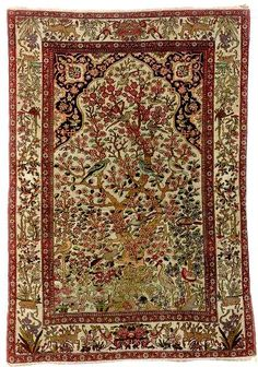 Antique Kerman Rugs: Guide to Lavar Kerman Rugs