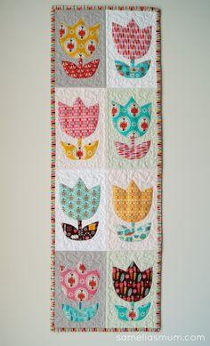 Samelia's Mum: Tulip Time Quilt {Pattern}