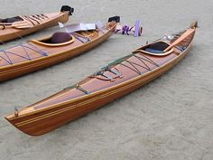 Wood strip kayak- I would love to build one of these!