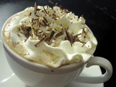Almond Hot Cocoa: Curl up on the couch with this healthy take on hot cocoa. My slim-style hot chocolate, made with unsweetened almond milk and dark chocolate chips, has about the half the calories of a standard mug of cocoa. Gotta love a guilt-free indulgence!