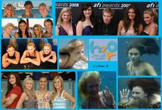 H2o Just add water... Im 21 almost 22 and im pretty much obsessed with this show about mermaids haah