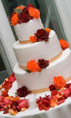 I like simple yet elegant cakes