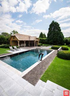 't Groene Plan - Hybride zwemvijver Bouwel - Hoog ■ Exclusieve woon- en tuin inspiratie.