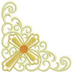 Heirloom Crosses 03 machine embroidery designs
