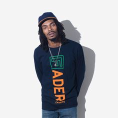 The FADER x Carrots Long Sleeve Shirt (Navy) - The FADER  - 3