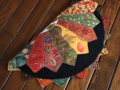 Your place to buy and sell all things handmade Dresden Quilt, Dresden Plate, Photo Candles, Flower Center, Plate Design, Flower Applique, Thanksgiving Table, Table Toppers, Fall Harvest