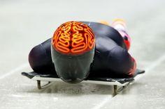 John Fairbairn of Canada makes a practice skeleton run  February 5, 2014, in Sochi, Russia. Fairbairn told the Canadian Olympic web site: