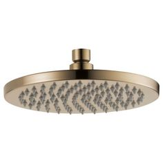 Odin: CEILING MOUNT RAINCAN SHOWERHEAD - 2.0 GPM Luxe Gold
