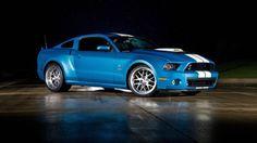 Gulf Racing Mustang | Mustang Shelby especial leva motor com compressor mecânico da Ford ...