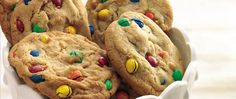 Appeal to kids of all ages with super-size and super-yummy cookies chock-full of colorful M&M's™ chocolate candies.