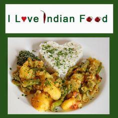 Aloo Phalli - Fisolen (Grüne Bohnen) Kartoffel Gemüse indisch- #iloveindianfood #vegan