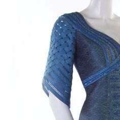 """Sleeve design for Thai Silk Gown."