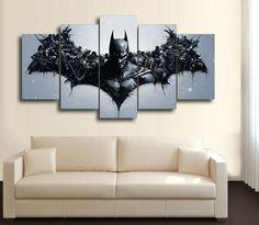 HD Printed Movie Characters Batman 5 Piece Canvas