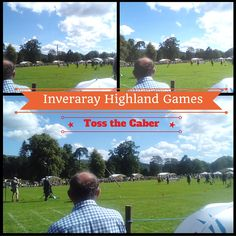 Toss the caber by the heavyweights at Inveraray Highland Games.