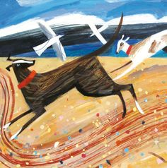 'Chasing Dogs' by Mary Sumner