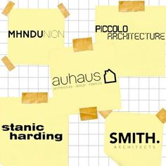 JOB BOARD AUHAUS ARCHITECTURE: Richmond VIC High End Residential Architect / 5 yrs experience info@auhaus.com.au STANIC HARDING ARCHITECTURE  INTERIORS: North Bondi NSW Graduate Architect / Full Time Project / Design Architect / 4-5 yrs experience / Full Time architects@stanicharding.com.au MHN DESIGN UNION: Surry Hills NSW Graduate or Mid-Level Architect / 5 yrs experience careers@mhndu.com SMITH ARCHITECTS: Brisbane QLD Graduate Architect or Architect / 2 yrs experience / SketchUp  AutoCAD…
