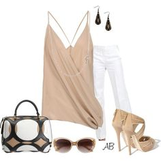 Inspiration look Day to night : Day to Night created by amanda-law-beaulieu on Polyvore