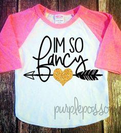 Im so Fancy girls glitter shirt sparkle girls clothing girls glitter shirt fancy girls shirt kids clothing girls fancy shirt by PurplePossom on Etsy https://www.etsy.com/listing/231862596/im-so-fancy-girls-glitter-shirt-sparkle