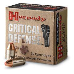 Hornady® Critical Defense™ Handgun Ammo Find our speedloader now! http://www.amazon.com/shops/raeind
