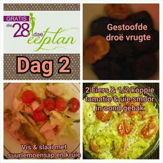 28dae Banting Recipes, Diet Recipes, Healthy Recipes, Recipies, Diet Meals, 28 Dae Dieet, Dieet Plan, Clean Eating, Healthy Eating