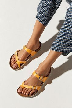 Discover recipes, home ideas, style inspiration and other ideas to try. Birkenstock Sandals, Birkenstock Mayari, Strappy Sandals, Slide Sandals, Shoes Sandals, Heels, Black Wedge Shoes, Black Wedges, Huaraches