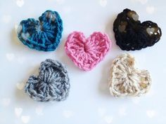 How to: Crochet a Heart - YouTube