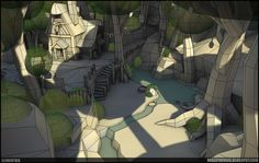New Approach to Handpainted Environments - Page 4 - Polycount Forum