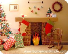 fake fireplaces - Google Search