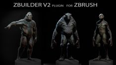 ZBuilder Plugin Simplifies Character Creation in ZBrush Tutorial Zbrush, 3d Tutorial, Character Creation, Character Design, Zbrush Anatomy, Zbrush Render, Zbrush Hair, Types Of Humans, Zbrush Character