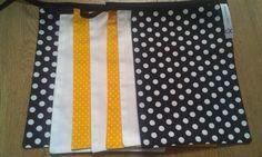 Naamslinger geel/zwart