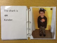 Playfully Learning: Where Is The Shark? A Positional Word Lesson Class Book Positional Words Kindergarten, Positional Language, Kindergarten Literacy, Preschool Math, The Words, Language Activities, Preschool Activities, Math For Kids, Fun Math